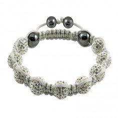 Quality Shamballa Crystal Ball Bangle Bracelets for sale