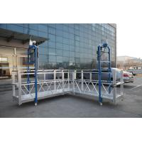 China Steel Painted / Hot Galvanized / Aluminum  ZLP630 / ZLP800 / ZLP1000  L Shaped  Suspended Platform For Wall Painting wholesale