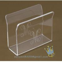China acrylic napkin stand wholesale