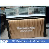 Quality Custom Modern Design Glass Jewellery Shop Display Counters With led lights for sale