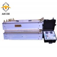 China Water Cooled Conveyor Belt Vulcanizing Machine , Rubber Hydraulic Press 11.2kw on sale