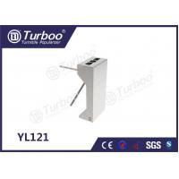 China 304 Stainless Steel Electronic Turnstile Gates 35 Persons / Min Transit Speed wholesale