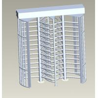 China Stainless Steel Full Height Turnstile Gate For Bi-Direction Access Control wholesale