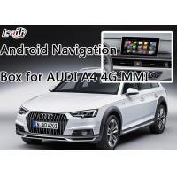 Buy cheap AUDI A4 Car Android Auto Interface Upgrade System With Rear Parking Guideline product