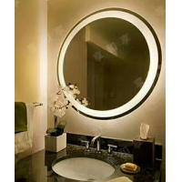 China Electric Back Lighted Bathroom Mirrors PVC Back Framed 80x80x3.5cm on sale