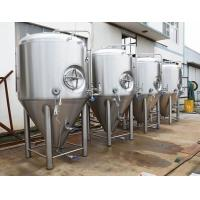 Quality Industrial Large Beer Brewing Equipment 3 Vessel With Stout Tanks / Kettles for sale