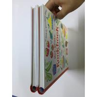 China Round Spine Kids Hardbound Book Printing / Spiral Binding Wire O Book wholesale