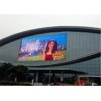 China Durable Outdoor Waterproof Led Screen , Full Color Outdoor Advertising Led Display wholesale