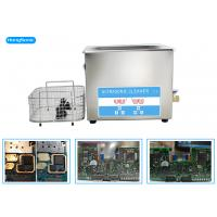 China 3.2L 100W Ultrasonic Cleaner Electronics For Circuit Board Cleaning wholesale