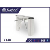 China Slim Tripod Turnstile Security Access Gates Achieve Access Attendance , Fees Function wholesale
