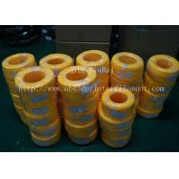 Quality Large Diameter Rigid PP Plastic Hard Tubes Red / Yellow For Electrical Wire for sale