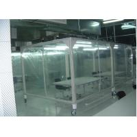 China Power Coated Steel Softwall Cleanroom Pharmaceutical , Vertical Laminar Air Flow Chamber wholesale