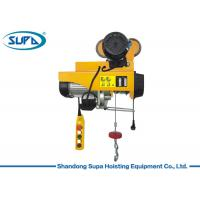 China 200kg PA Type Small Electric Hoist Wire Rope Sling With Remote Control wholesale