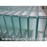 China Thermal Insulated U Glass , Low Iron Glass For Exterior Glass Wall Decoration wholesale