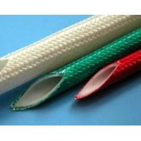 High Temp Wire Insulation Sleeve , Fiberglass Sleeving For Wires