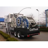 China Truck Mounted Oilfield Vehicles Coiled Tubing Unit 12.0×2.55×4.00m wholesale