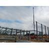 China Steel Prefabricated Workshop Buildings / Metal Frame Buildings Size Custom wholesale