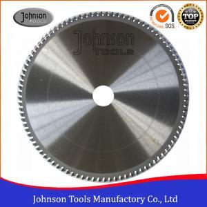 China Aluminum Cutting TCT Saw Blade / Circular Saw Blade 250mm To 500mm on sale