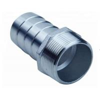 China Thread combination pipe nipple grooved end stainless steel KC hose nipple on sale