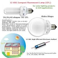 China 24vdc input fluorescent lamp ballast for solar lighting,  dc energy saving lamp,  dc ballast on sale
