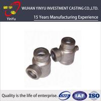 China Durable 316 / 304 Stainless Steel Pipe Fittings Lost Wax Investment Casting Process wholesale