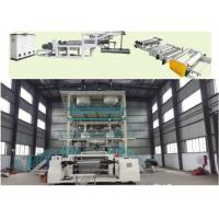 China TPU PVA PVB Extrusion Line , PE CPE CPP Thermoplastic Extrusion Machine  wholesale