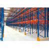 China Blue Orange Industrial Galvanised Pallet Racking Shelves Material Handling Racks wholesale