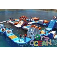 Adults Square Inflatable Floating Backyard Water Slide Park Waterproof 30X30M