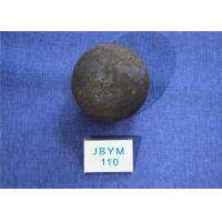 China High Surface Hardness 60-61hrc Grinding Media Steel Balls B3 D110mm for Chemical Industry wholesale