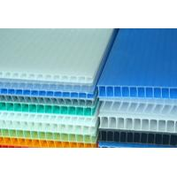 China Waterproof Correx Plastic Sheets 1.6 mm - 12 mm  Recyclable PP Hollow Board on sale