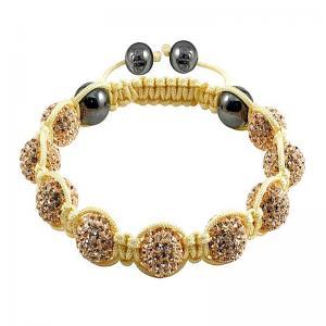 China Tresor Paris Shamballa Crystal Ball Bracelets  wholesale