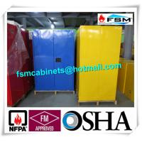 China Steel Flame Resistant Cabinet Hazmat Locker For Corrosive Liquid In Chemical wholesale