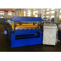 China Quick Change Roofing Sheet Roll Forming Machine, Rafted Type Metal Roofing Rollforming Machine wholesale