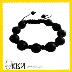 China High quality ODM 12mm CZ rhinestone beads Crystal Bangle Bracelets wholesale