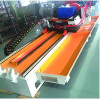 China PLC Control Cold Cut Pipe Saw Manpower Saving For Pipe Production Line wholesale