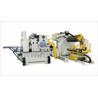 Buy cheap 3 In 1 Hydraulic Combined Decoiler Straightener Feeder For 1300mm Steel Coil Flattening from wholesalers