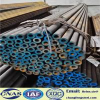 Quality AISI GCr15 EN31 SUJ2 Structural Steel Pipe 6 M Length Mill Finish for sale