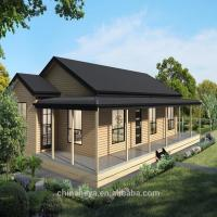China Luxury Prefab Light Steel Structure Villa High Strength Small Prefab House wholesale