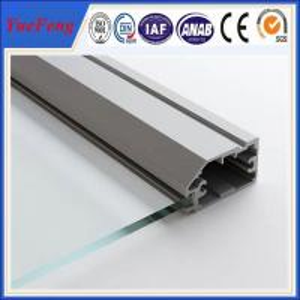 China factory aluminium glass door frame profile, aluminium bathroom doors, aluminium door frame wholesale