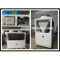 China Simple Structure Air Cooled Condenser / Walk In Cooler Condensing Unit 23A on sale