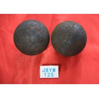 Quality Grinding Resisting Hot Rolled Steel Ball for Copper Mine / Gold Mine Dia 125mm for sale