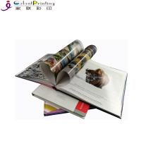 China Colorful  Square Hardcover Book Printing Services Film Lamination OEM Service wholesale