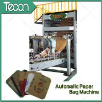 China High Quality Energy Conservation Multiwall Kraft Paper Bag Making Machine wholesale