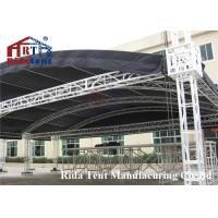China Portable Aluminum Stage Light Truss , Circle Roof Truss For Concert Event wholesale