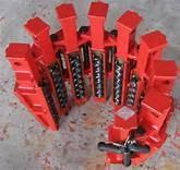 China Varco Type DCS Drill Collar Slips and Slip Insert Circular Buttons Alloy Steel Forged API 7K STD. wholesale