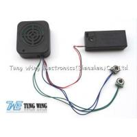Buy cheap Square Recording Baby Sound Module With Speaker Cell Box / Two Push Buttons from wholesalers
