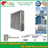 China Water Heat CFB Boiler APH Steam Air Preheater In Cement Plant , Tubular Air PreHeater wholesale
