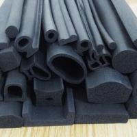China EPDM rubber extruded 3M adhesive backed foam seal strips for wooden door insolation wholesale