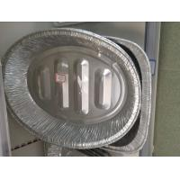 Lubricated storage container silver foil food packaging 8011 H24 Mill finish