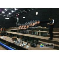 China 180 Degree Curved Screen 5D Theater System Counting System 9 Seats wholesale